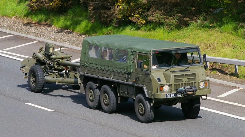 Pinzgauer 716M -British Army Combat Service Support