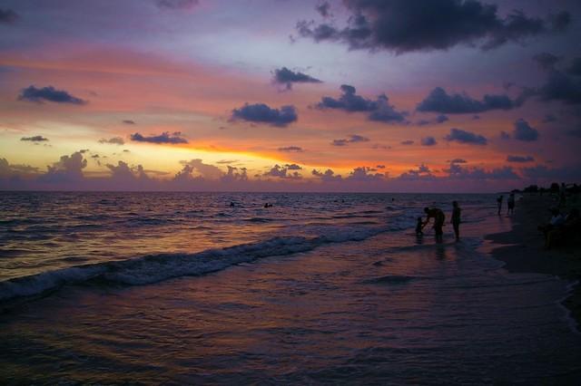 Brian Girard - Generational Sunset   Manasota Key Beach ...