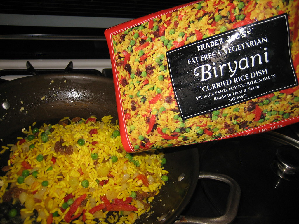 Vegetable Biryani Trader Joe S Trader Joe S Vegetable Bi Flickr