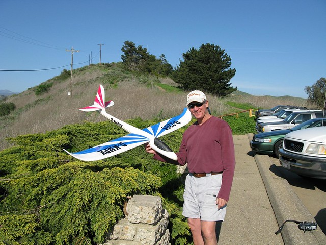 radio controlled model airplane enthusiast