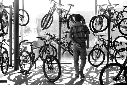 Bike Junkie. (Explore!) by confidence, comely.