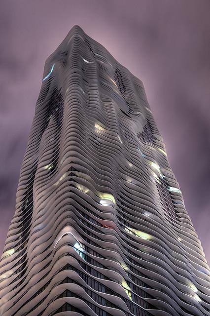 Aqua Building, Downtown Chicago