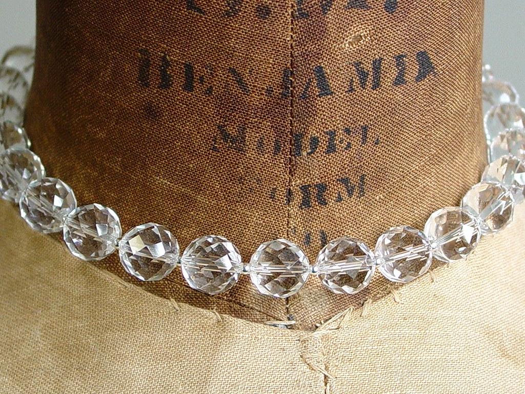 Alexis Silver alexis | gorgeous quartz crystal beads with tiny silver ball