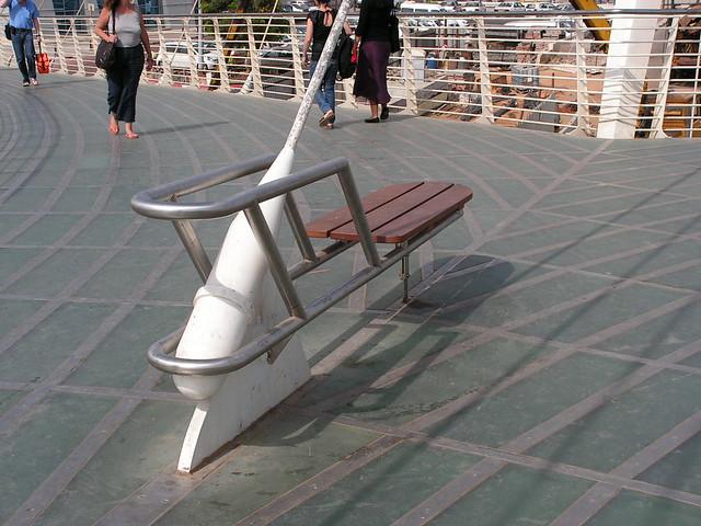 Calatrava bridge - deatail