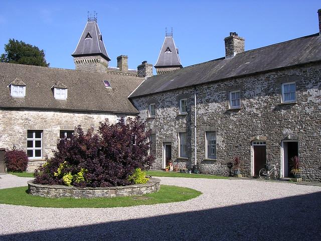 Inner courtyard, Newton House, Dinefwr