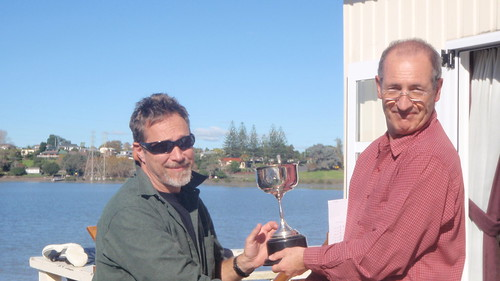Don Harland winner of the 2009 Sprint Racing Cup | by PLSC (Panmure Lagoon Sailing Club)