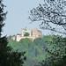 Výhled na hrad Buchlov z parku zámku v Buchlovicích, foto: Petr Nejedlý