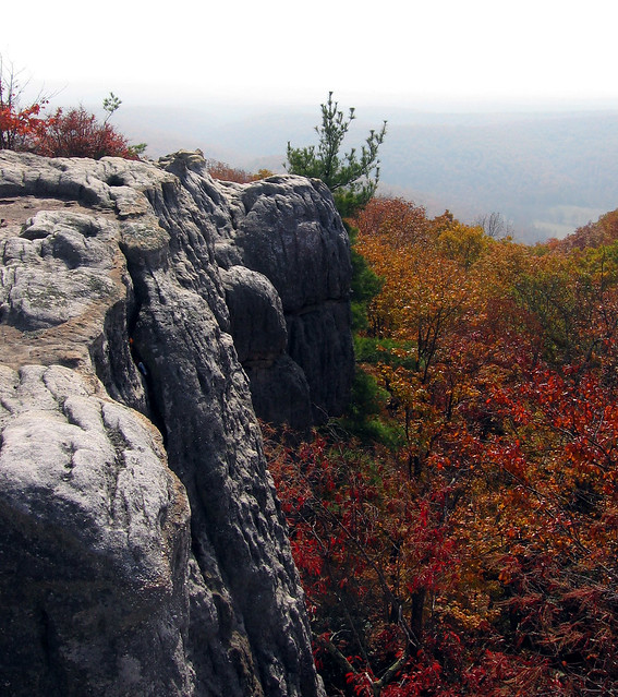 Black Mountain Overlook Fall Colors