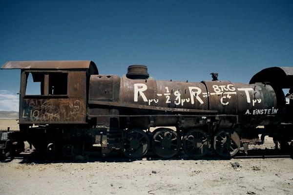 """Clever Loco"", Steam Locomotive, Uyuni, Bolivia"