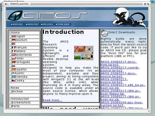 aros-webkit-aros.org   by fce2