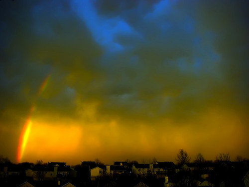 sunset sky weather rainbow supershot aplusphoto ofallonmo thechallengefactory