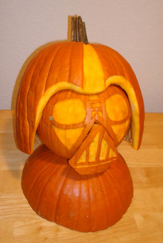 Darth Vader Pumpkin | by Custom Paper Toys