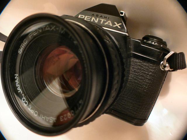 Pentax Mv 3/4 view....