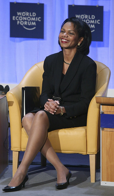 Condoleezza Rice - World Economic Forum Annual Meeting Davos 2008
