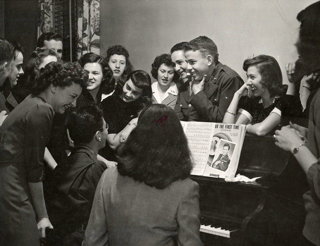 Students at Piano, 1944
