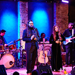 Wed, 08/02/2017 - 9:30pm - Flo Morrissey and Matthew E. White perform for WFUV Members at City Winery in New York City, 2/8/17. Hosted by Rita Houston. Photo by Gus Philippas.