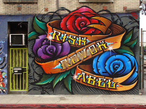 Risk Revok Abel MSK WCA LosAngeles Graffiti Art | by anarchosyn