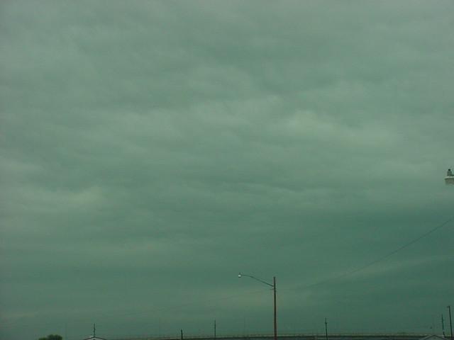 June 9th, 2005 - Cumulonimbus, & Cumulonimbus Mammatus clouds