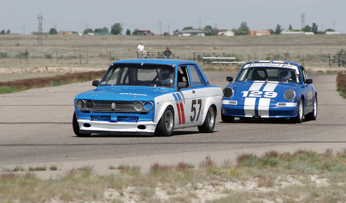 Datsun holds off Porsche | by tehgipster
