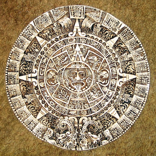Calendario Azteca.Calendario Azteca Replica Calendario Azteca Aztec Calenda