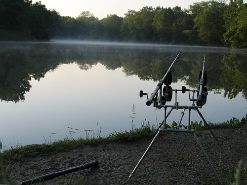 ohio sunrise fishing mason group 2006 carp anglers angling pinehilllakes