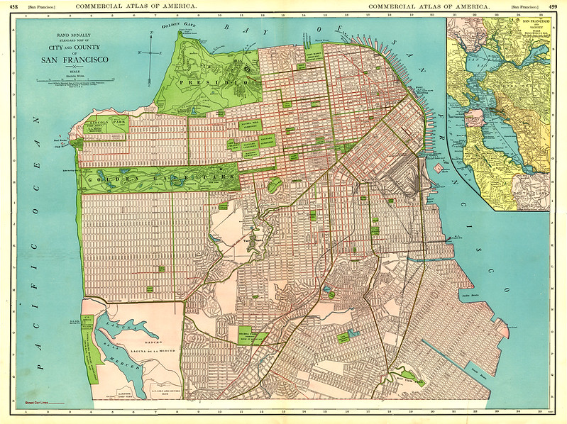 1925 San Francisco Street Map