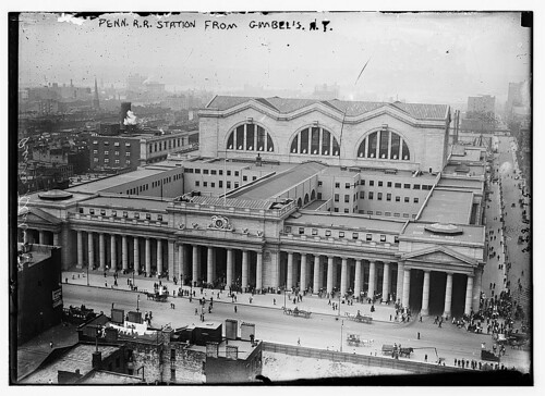 Penn. RR Station from Gimbel's N.Y.  (LOC) | by The Library of Congress