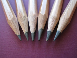 Pencil tips | by Dvortygirl