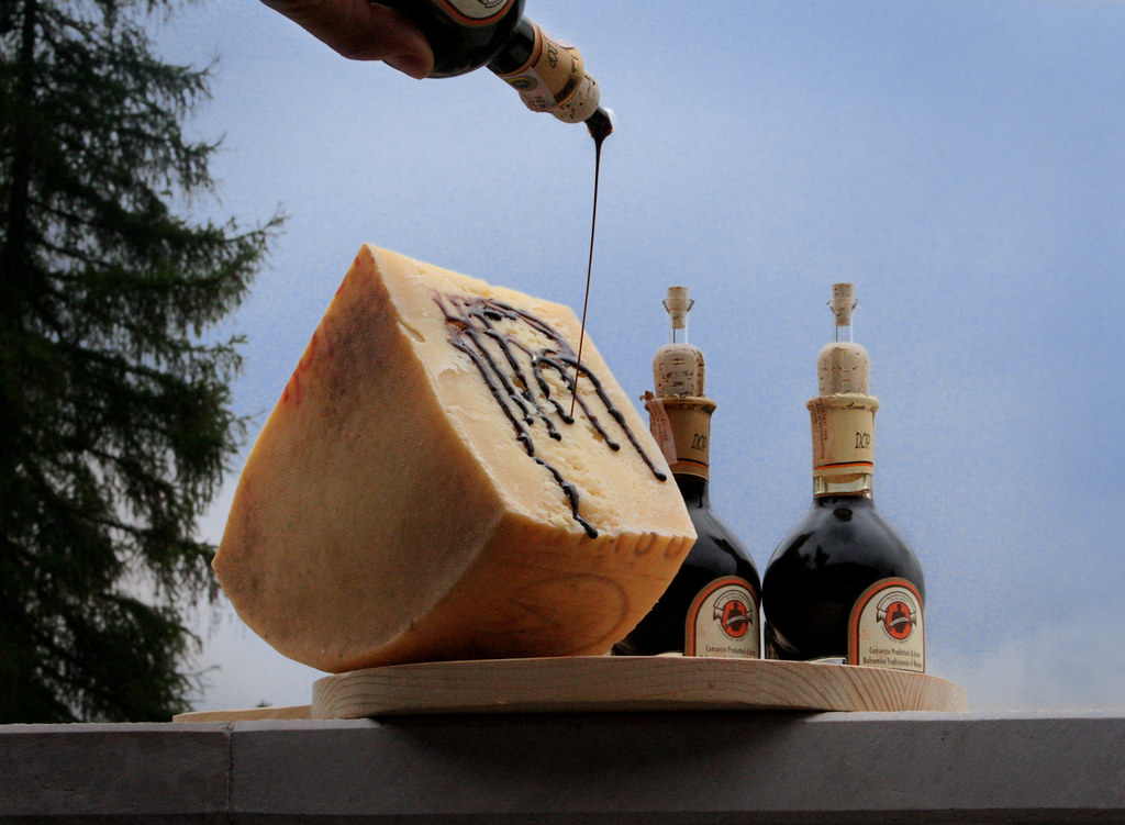 asiago dop e aceto balsamico tradizionale di modena | Flickr