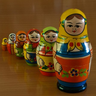 Russian Nested Dolls | by Images by John 'K'