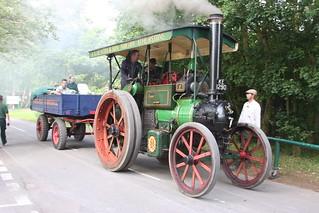 Traction Engines - Kingsbury Water Park
