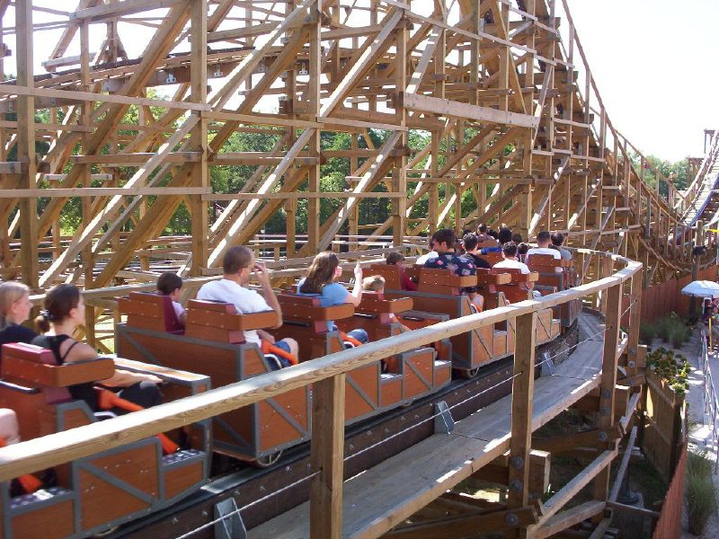 El Toro at Six Flags Great Adventure
