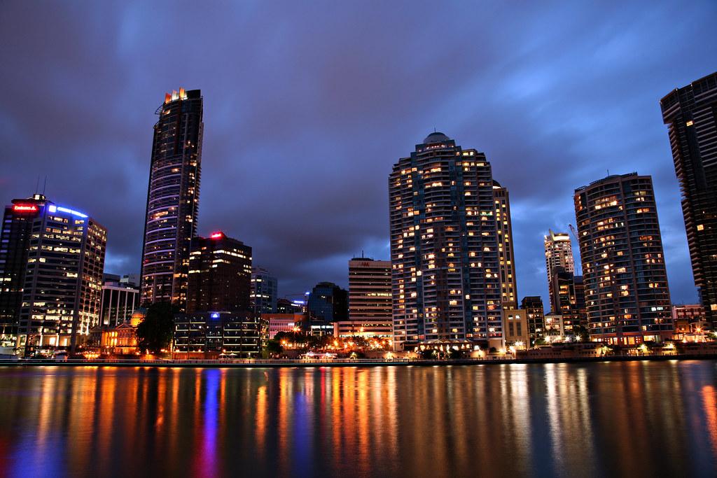 Brisbane City from Kangaroo Point