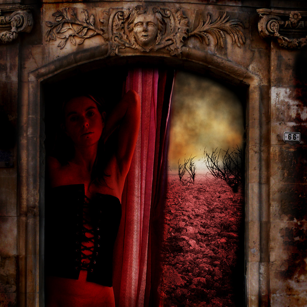 One little back door to Hell by Tangent~Artifact, here sometimes :)