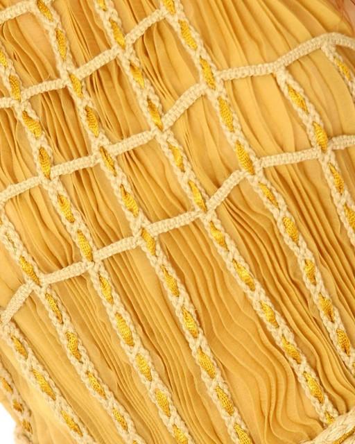 yellow braids