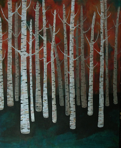birch forest no. 4 | by Bird in the Hand
