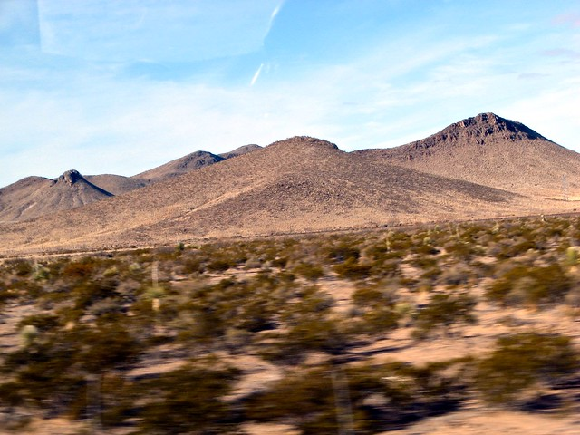 Chihuahuan desert and Sierra Madre mountains, Mexico
