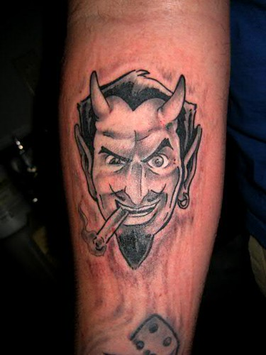 Coop Devil Tattoo By Jon Poulson Coop Devil Tattoo By Jon