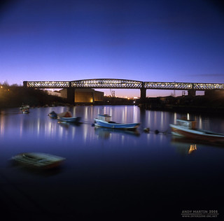 Queen Alexandra Bridge & River Wear, Sunderland | by martintype