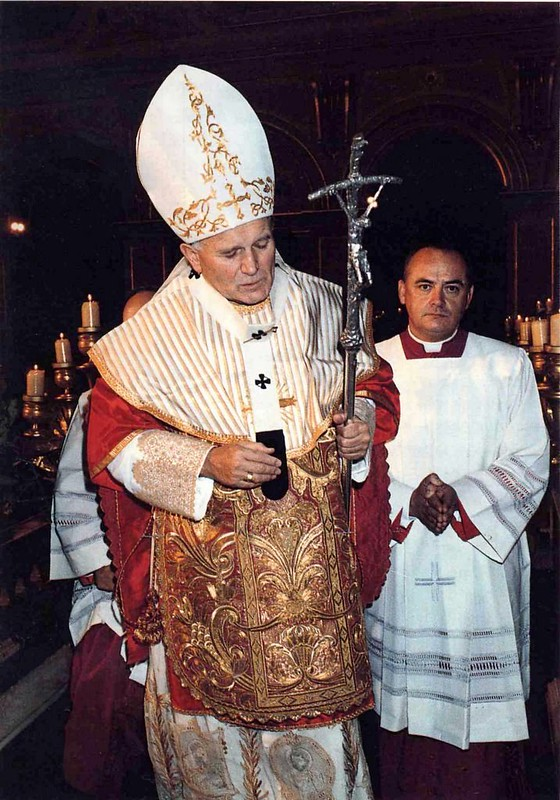 Traditional Papal Vestments
