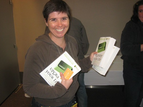 Gina Trapani and her new book | by technotheory