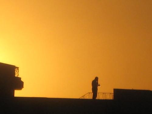 sunset orange nature photography flickr egypt cairo andrewashenouda