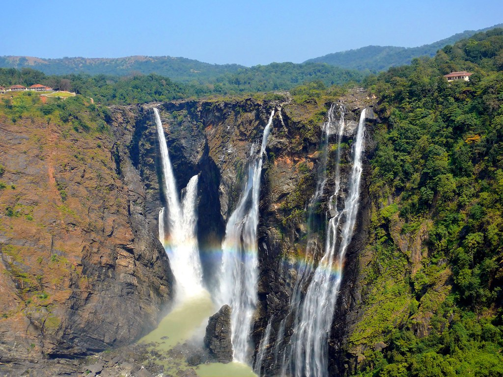 Scenic views from Jog falls