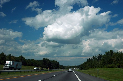 clouds over the highway | by alankin