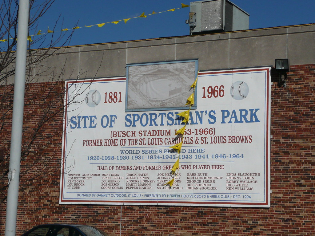 Site of Sportsman's Park, St  Louis | oldballparks | Flickr