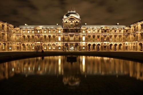 Cour carrée du Louvre *by night*, Paris | by Zigaar