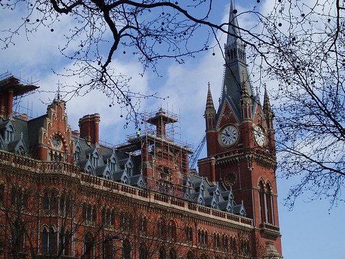 St Pancras Chambers and Clock Tower | by amandabhslater