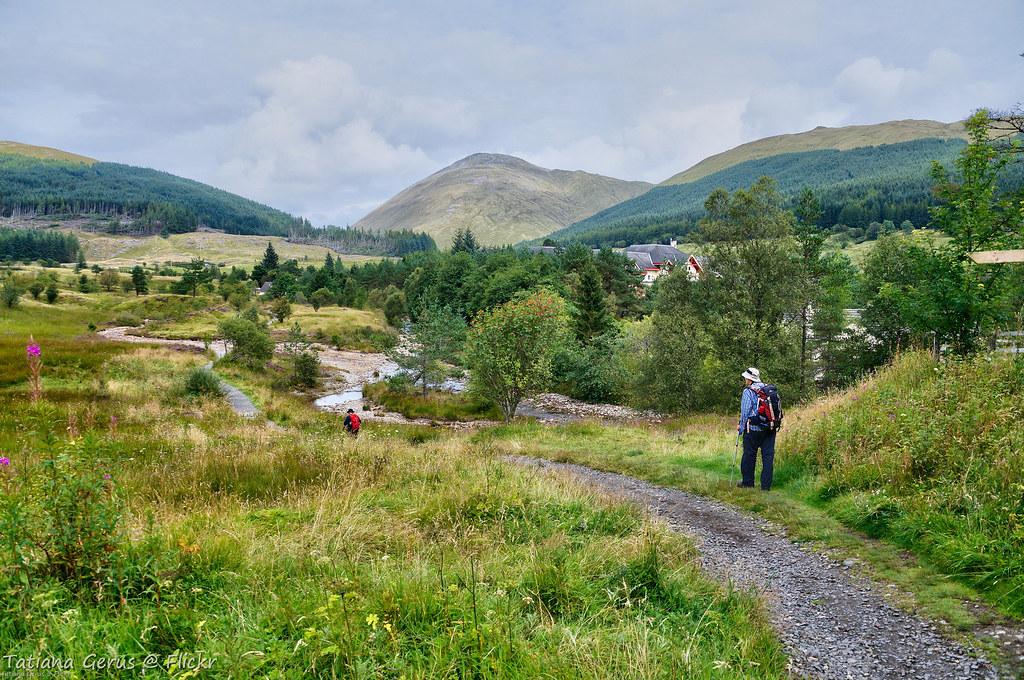 West Highland Way, - passing Tyndrum