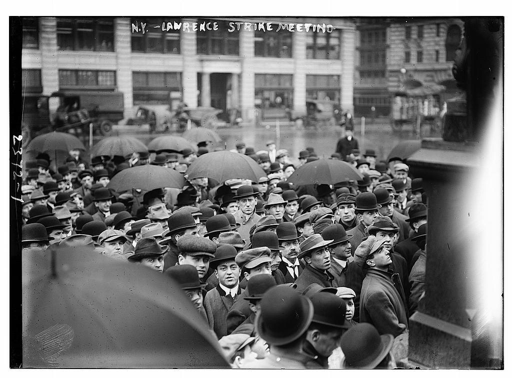 N.Y. - Lawrence strike meeting  (LOC)