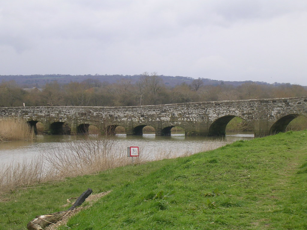 Greatham Bridge Looks like a stone caterpillar.... Pulborough Circular
